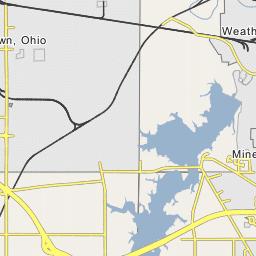 Meander Creek Reservoir on