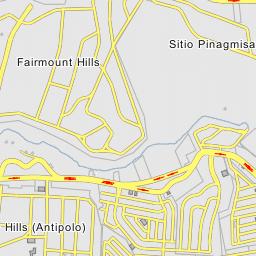 Rizal Philippines Map.Palmera Hills 6 Taytay