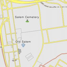Old Salem Nc Map.Oid Salem Winston Salem North Carolina